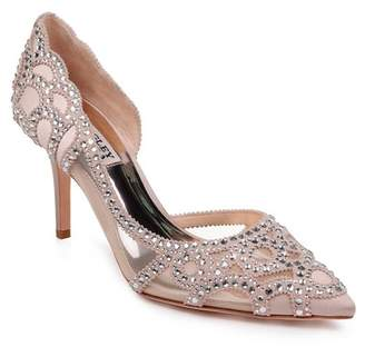 Badgley Mischka Marissa Crystal Embellished d'Orsay Pump