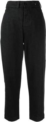 Margaret Howell high rise tapered jeans