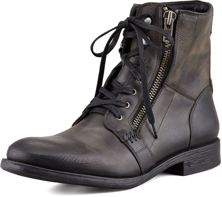 John Varvatos Bleeker Side-Zip Boot, Black