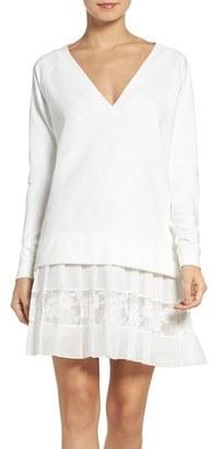 Women's French Connection Eliza Drop Waist Dress $138 thestylecure.com