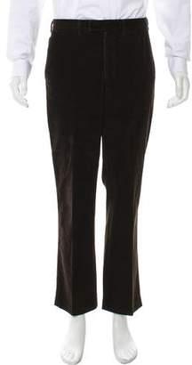 Prada Sport Flat Front Corduroy Pants
