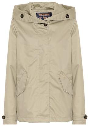 Woolrich Hooded cotton jacket