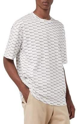 Burberry Men's Ryford Archive Logo T-Shirt, White