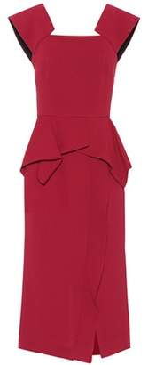 Roland Mouret Sawleigh wool dress