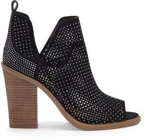Vince Camuto Kiminni Studded Laser-cut Bootie