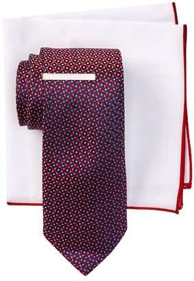 BROLETTO Cirilo Mini Tie, Pocket Square, & Tie Bar Set