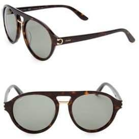 Cartier 55MM Aviator Sunglasses