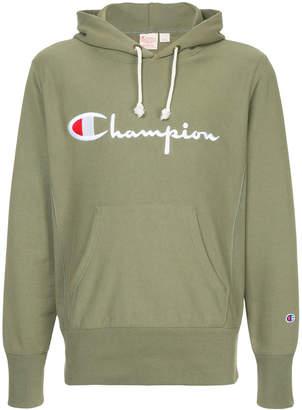 Champion logo print hoodie