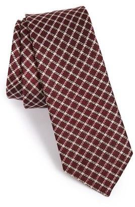 Men's The Tie Bar Check Silk Tie $19 thestylecure.com