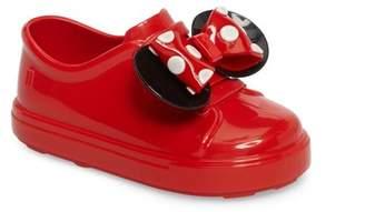 Mini Melissa Disney Be Minnie Slip-On Sneaker (Toddler)