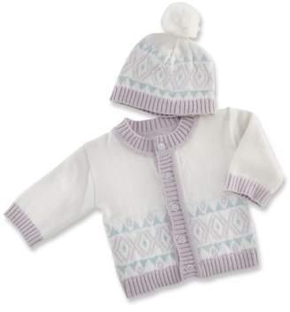 Baby Aspen Fairy Tale Forest Cardigan & Hat Set
