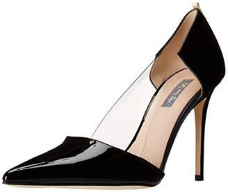 Sarah Jessica Parker Women's Femme Clear Pointed Toe Dress Pump