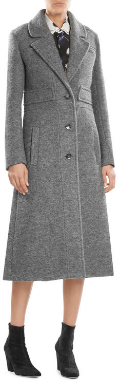 Carven Carven Coat with Virgin Wool