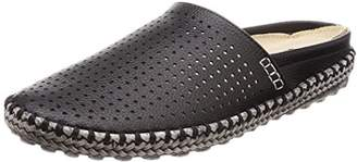BCR (ビーシーアール) - [ビーシーアール] カジュアルシューズ スライド クロッグ 人工皮革 BC135 BLACK 25 cm