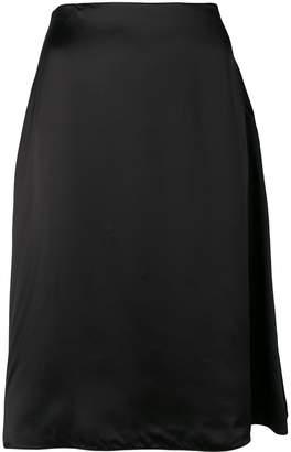 Jil Sander Navy A-line flared skirt
