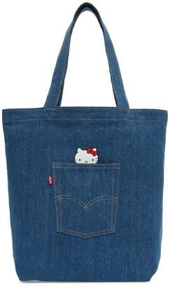 Levi's x Hello Kitty Back Denim Pocket Tote