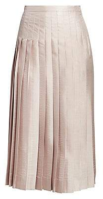 Dries Van Noten Women's Pleated Midi Skirt