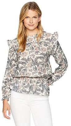 Ella Moon Women's Standard Long Sleeve Smocked Waist top