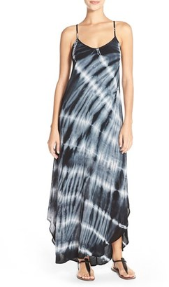 Women's Fraiche By J Tie Dye A-Line Maxi Dress $98 thestylecure.com