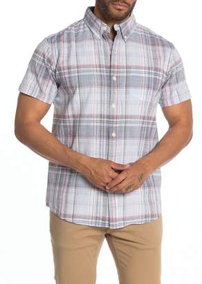 Weatherproof Plaid Regular Fit Shirt