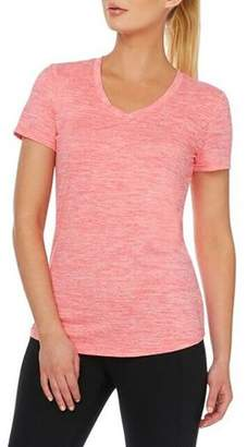 Danskin Women's Active Essential V Neck Tee