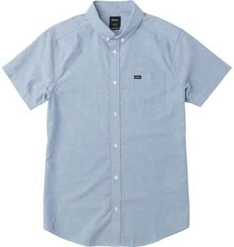 RVCA That'll Do Stretch Short-Sleeve Shirt - Men's