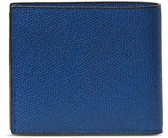 Valextra Leather bifold wallet - White