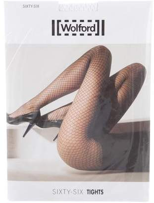 Wolford Sixty Six Fishnet Tights w/ Tags