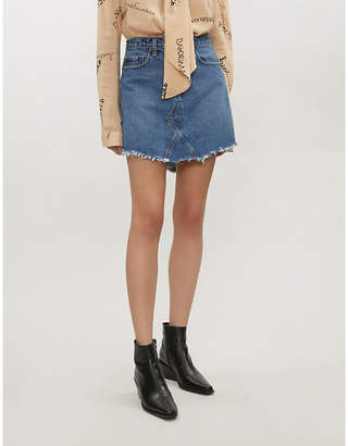 NOBODY DENIM The Edge high-rise denim skirt