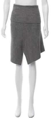 Etoile Isabel Marant Wool-Blend Knit Skirt