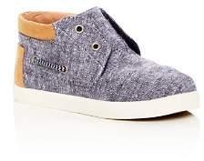 Toms Boys' Bimini Chambray High Top Sneakers - Toddler, Little Kid, Big Kid