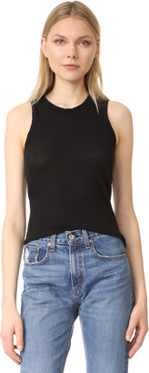 James Perse Skinny Crew Tank $85 thestylecure.com
