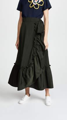 Mira Mikati Wrap Waist Skirt