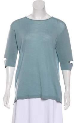Schumacher Dorothee Wool Short Sleeve Top