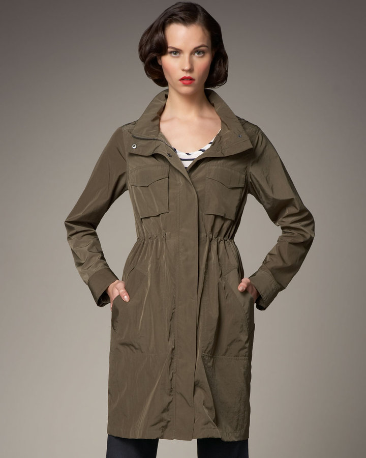Theory Anorak Army Jacket
