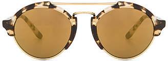 illesteva Milan II Sunglasses in Brown. $300 thestylecure.com