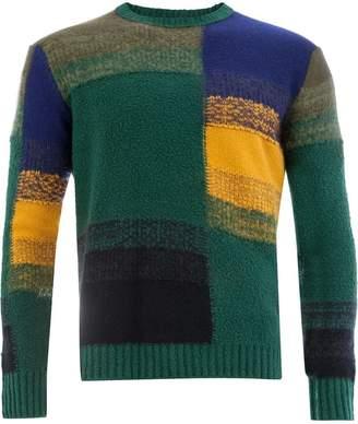 Roberto Collina colour block sweater