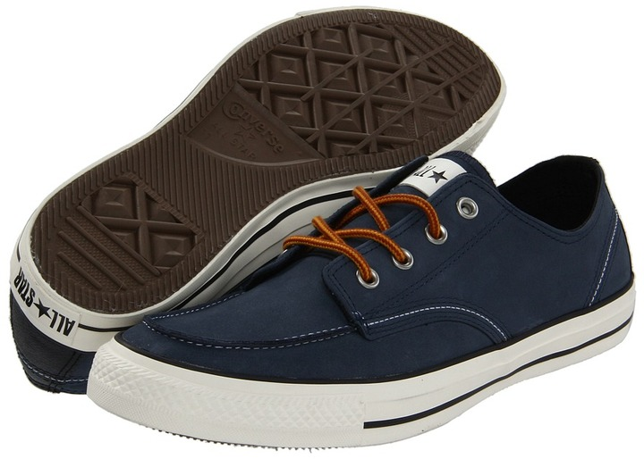 Converse Chuck Taylor All Star Classic Boot Ox (Athletic Navy) - Footwear