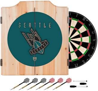 Kohl's Seattle Bombers Wood Dart Cabinet Set