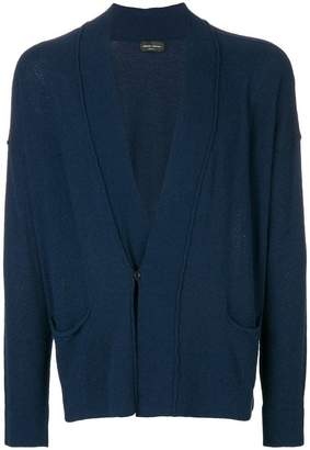 Roberto Collina classic fitted cardigan