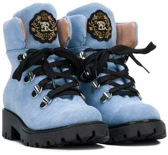 Ermanno Scervino lace-up mountain boots