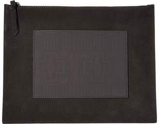Pendleton Suede Zip Clutch Clutch Handbags