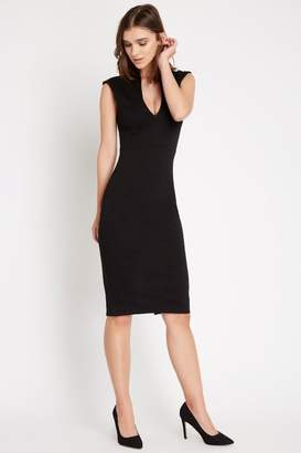 Soprano Fitted Black Dress