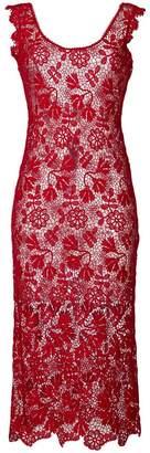 Ermanno Scervino sheer lace dress