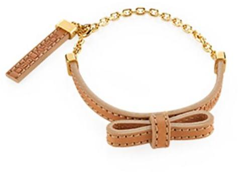 Dsquared2 Leather Bow Bracelet