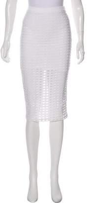 Alexander Wang Mesh Knee-Length Skirt