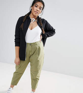 Asos Washed Utility Peg Pants