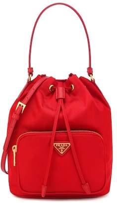 e487b4c3b8dc ... shop prada fabric bucket bag fc1e9 7d564