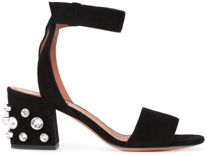 Givenchy jeweled heel sandals