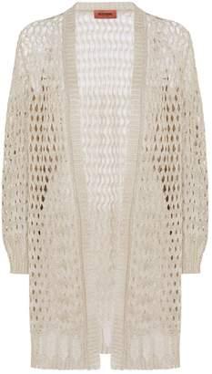Missoni Lurex Open Knit Cardigan